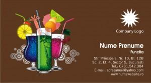 Carti vizita bar - pub - Cod Bar04