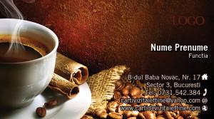 Carti de vizita cafea 14