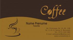 Carti de vizita - Cod Cafea02