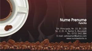 Carti de vizita - Cod Cafea03