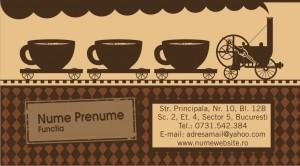 Carti de vizita - Cod Cafea10