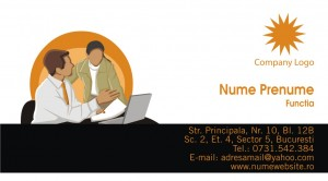 Carti de vizita - Cod Consultanta02