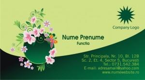Carti de vizita - Cod Flor01