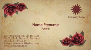 Carti de vizita - Cod Flor06