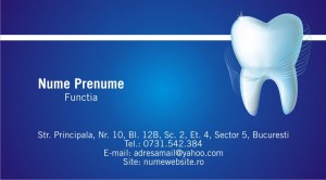 Carti de vizita - Dentist - 06