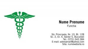 Carti de vizita doctori - Medicina - 17