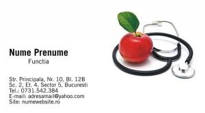 Carti de vizita - Medicina - 19