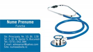 Carti de vizita - Medicina - 24