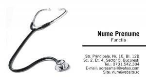 Carti de vizita - Medicina - 25