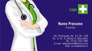 Carti de vizita doctor - medic - Medicina - 50