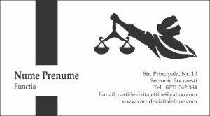 carti de vizita avocat Cod Avo31