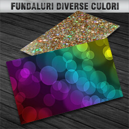 carti de vizita fundaluri diverse culori CDVi