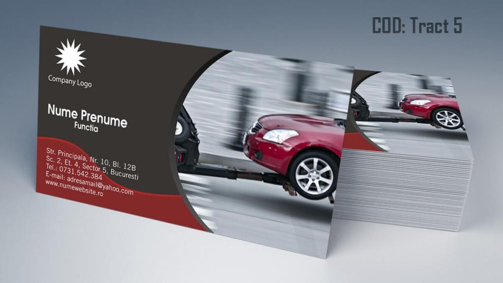 carti de vizita tractari auto model 5 CDVi