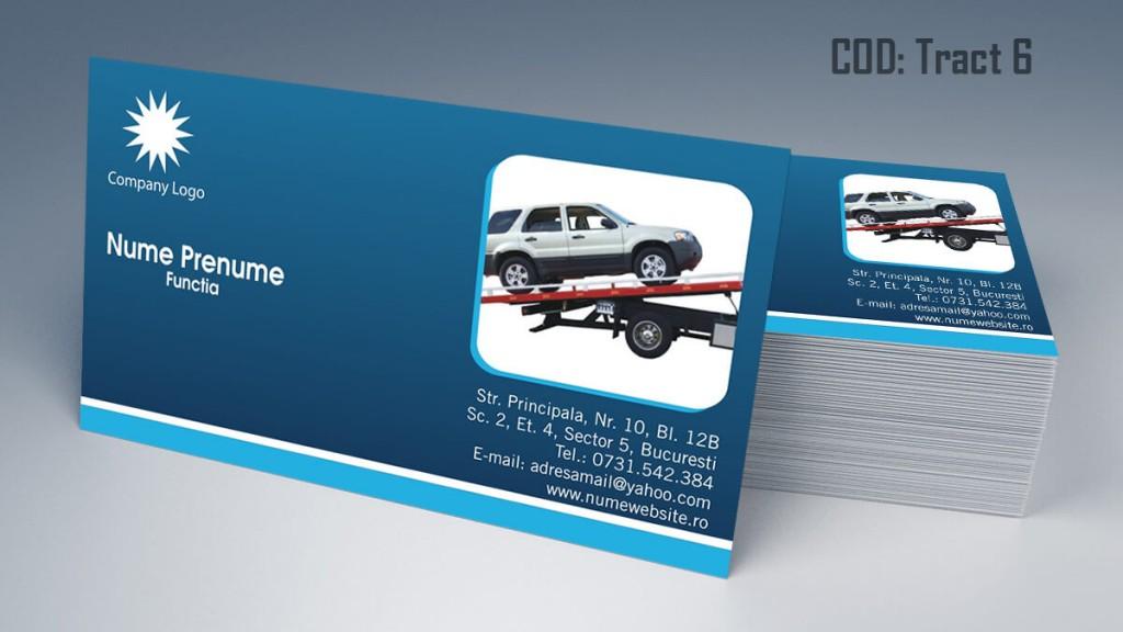carti de vizita tractari auto model 6 CDVi