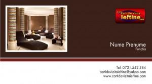Carti de vizita - Cod - Hotel 02