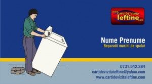 Carti de vizita - Cod - Reparatii masini spalat 01