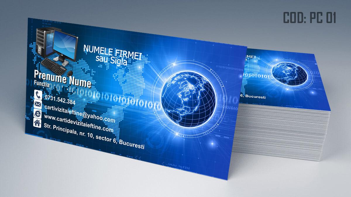 Carti de vizita Service Gsm Reparatii laptop pc tablete 01