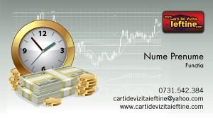 Carti de vizita amanet, exchange, schimb valutar - Cod AmE01