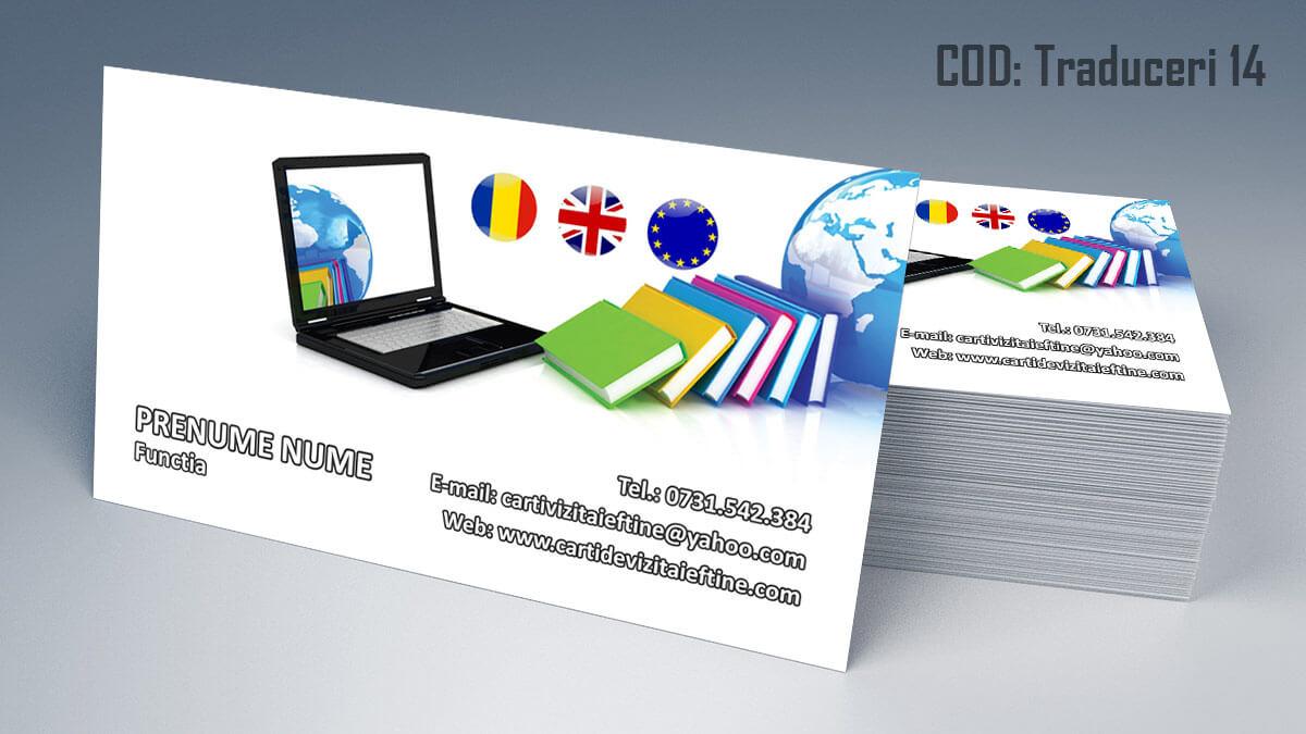 Carti de vizita translator traduceri legalizate ghid 14