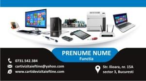 carti de vizita reparatii calculatoare, service, IT - 13