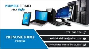 carti de vizita reparatii calculatoare, service, IT - 14