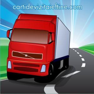 carti de vizita online transport