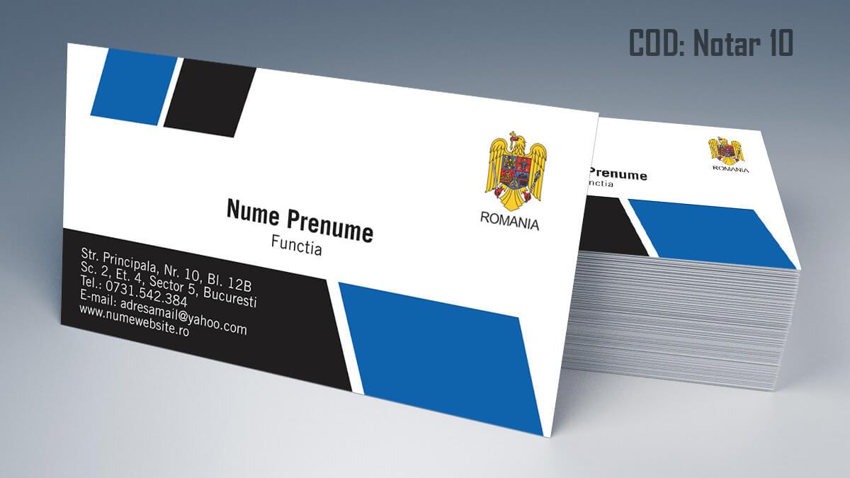 Carti de vizita Notar Birou Notarial Jurist Avocat 10