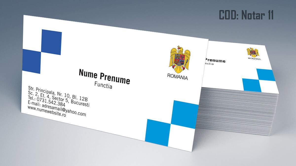 Carti de vizita Notar Birou Notarial Jurist Avocat 11