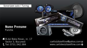 Carti de vizita Sonorizare audio auto-18