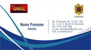 Carti de vizita notar public - Cod - Notar 08