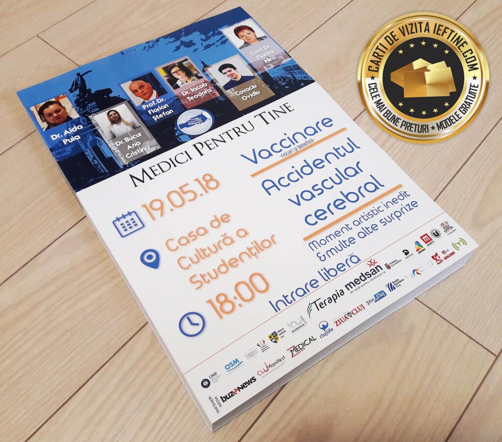 Afise postere publicitare ieftine personalizate CDVi 1