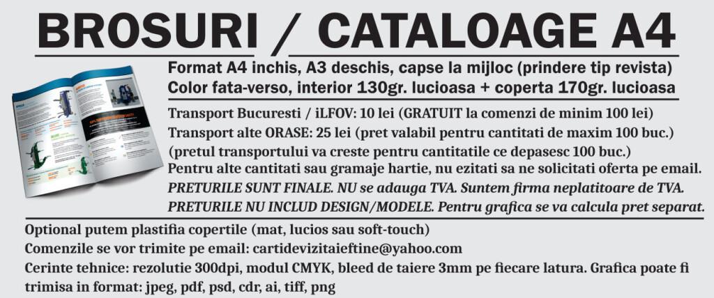 info brosuri a4 personalizate promovare publicitare CDVi