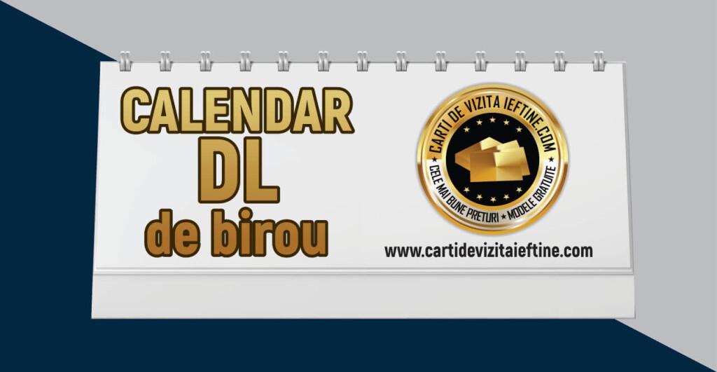 Calendar de birou format DL 10x20cm - CDVi