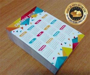 Calendare de buzunar CDVi