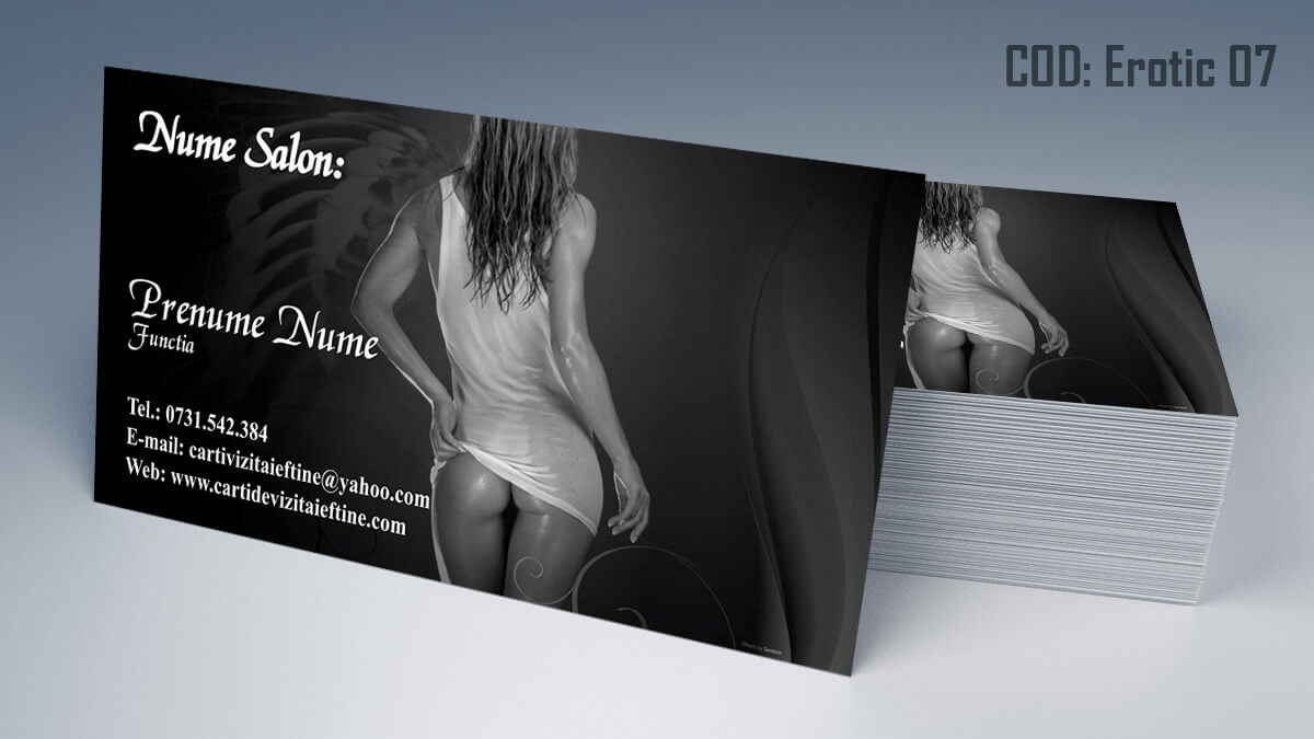 Carti de vizita Masaj Erotic Maseuza Sexy Salon 07