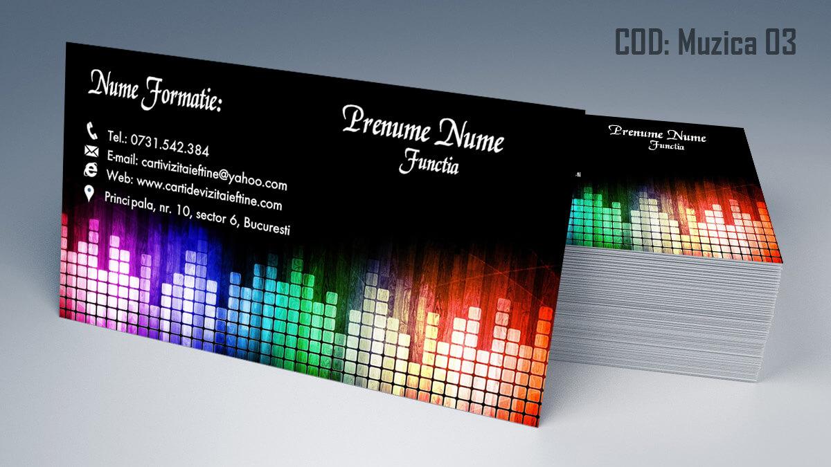 Carti de vizita Muzica Dj Petreceri private Formatie Nunti 03