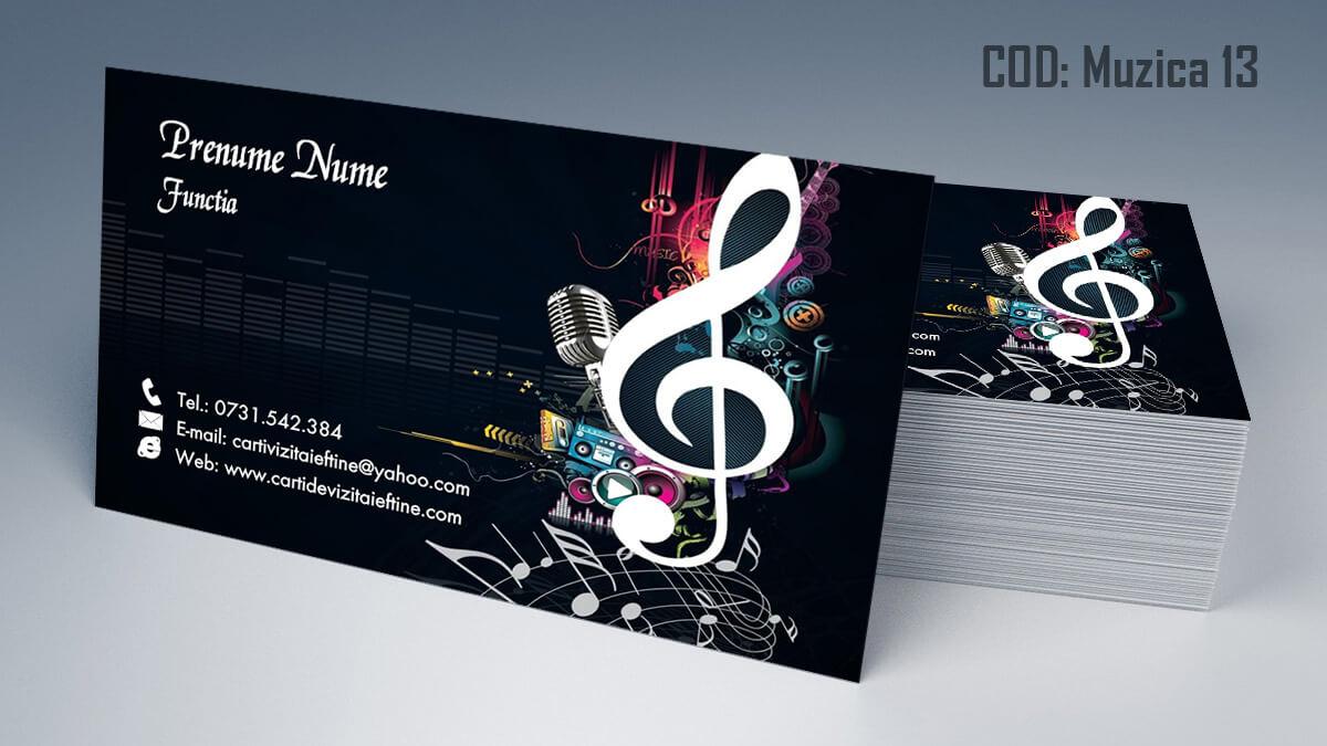 Carti de vizita Muzica Dj Petreceri private Formatie Nunti 13