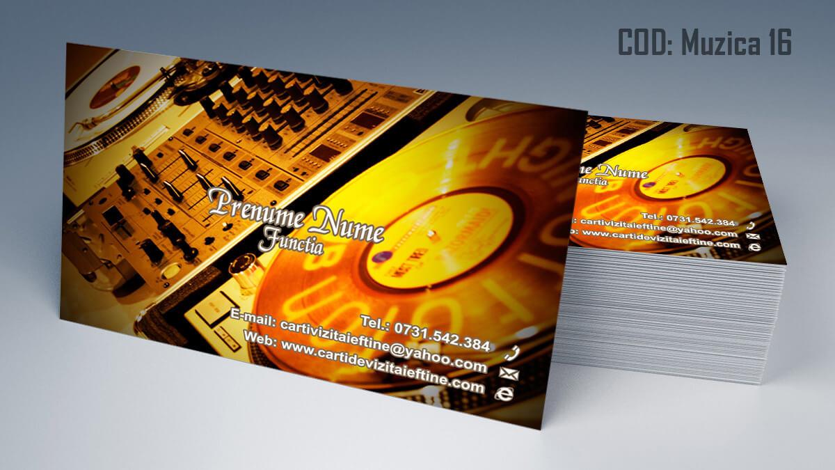 Carti de vizita Muzica Dj Petreceri private Formatie Nunti 16