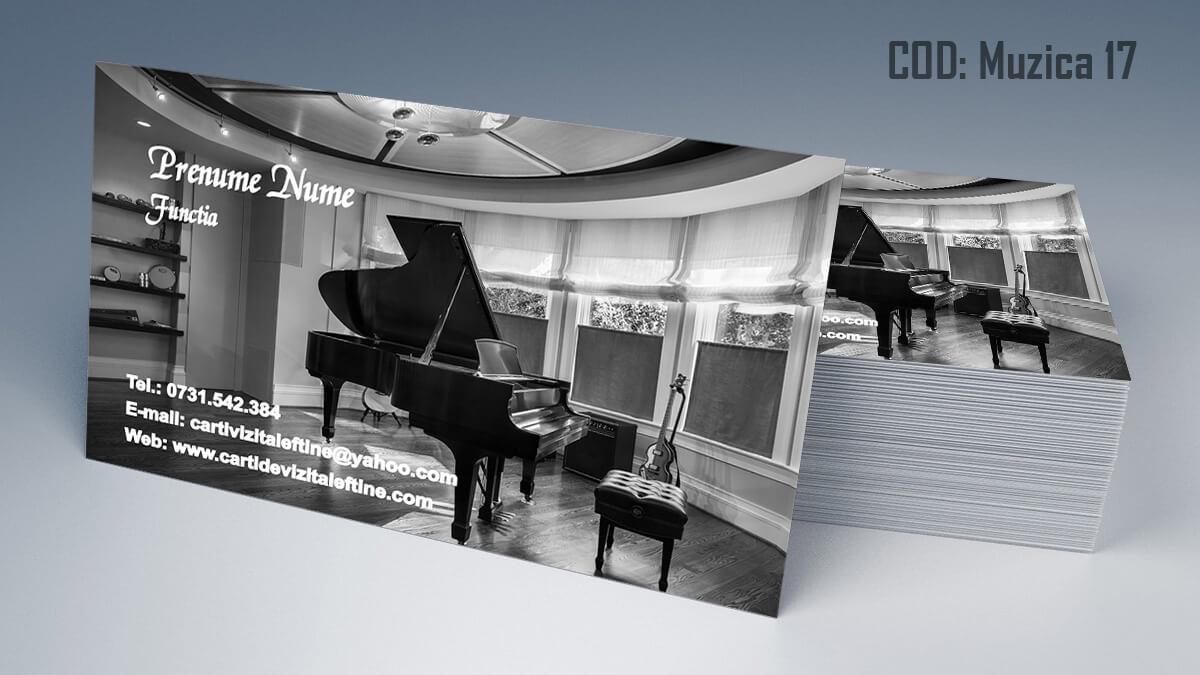 Carti de vizita Muzica Dj Petreceri private Formatie Nunti 17