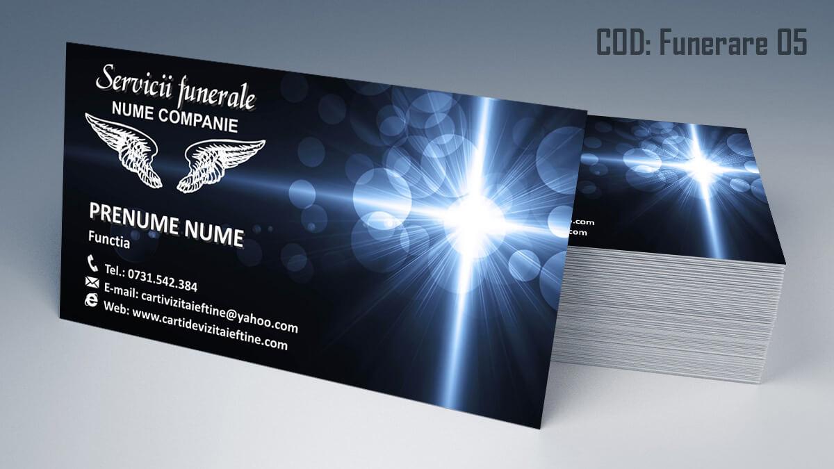 Carti de vizita Servicii Funerare Pompe Funebre 05