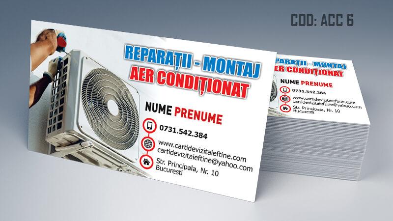 Carti de vizita aer conditionat reparatii montaj CDVi Cod ACC 6Carti de vizita aer conditionat reparatii montaj CDVi Cod ACC 6