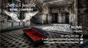carti de vizita FUNERARE - 04