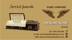 carti de vizita FUNERARE - 15