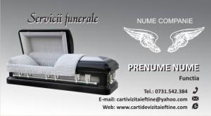 carti de vizita FUNERARE - 16
