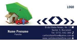Carti de vizita asigurari, brokeri, rca