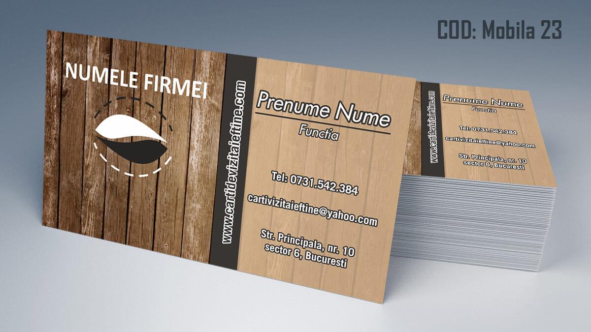 Carti de vizita Mobila la comanda Amenajari Interioare Reparati lemni 23Carti de vizita Mobila la comanda Amenajari Interioare Reparati lemni 23