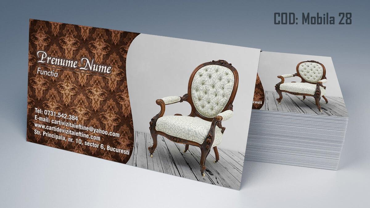 Carti de vizita Mobila la comanda Amenajari Interioare Reparati lemni 28