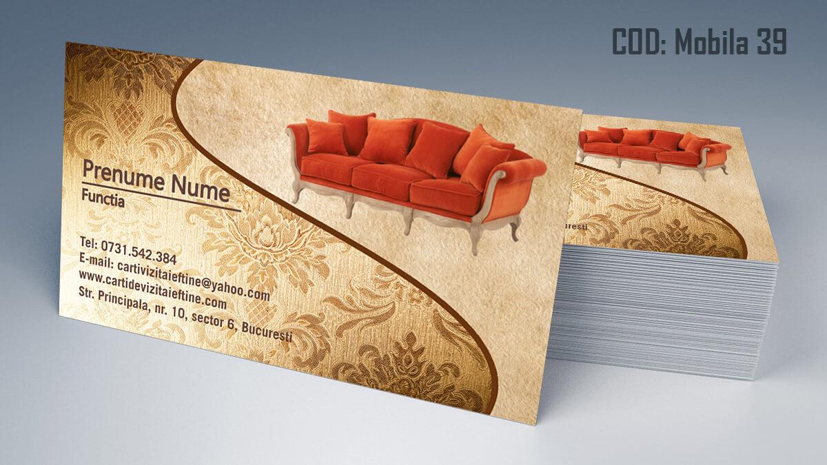 Carti de vizita Mobila la comanda Amenajari Interioare Reparati lemni 39