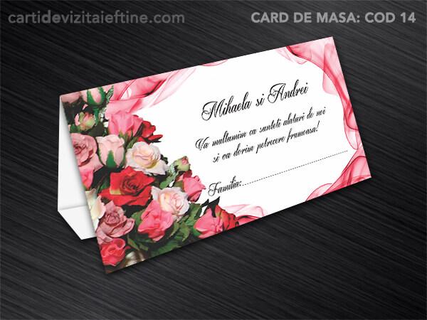 Card de masa - plic bani - nunta - botez CDVi 14