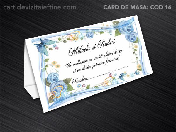 Card de masa - plic bani - nunta - botez CDVi 16